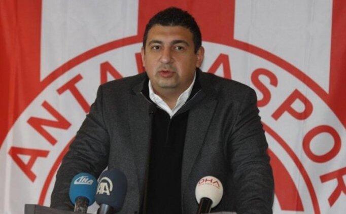 Antalyaspor'dan eski başkana haciz isyanı!