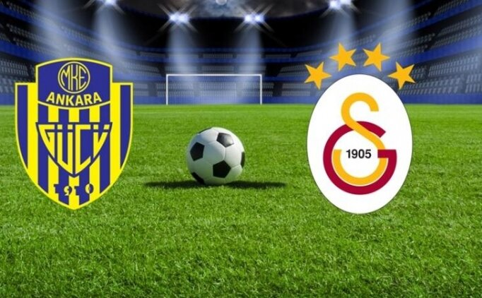 MKE Ankaragücü Galatasaray maçı bugün saat kaçta hangi kanalda?