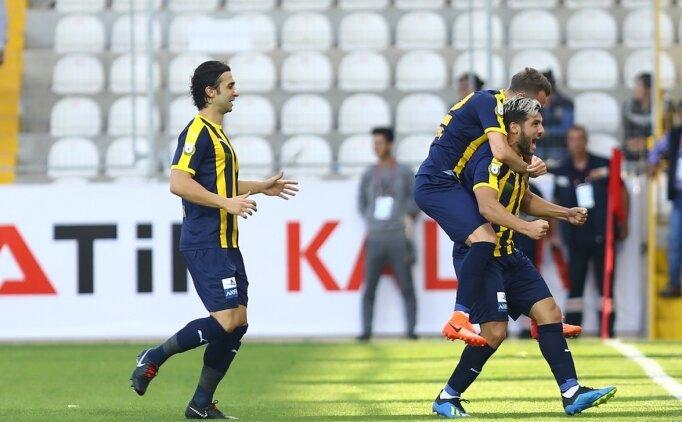 Ankaragücü, Akhisarspor'u tek golle geçti!