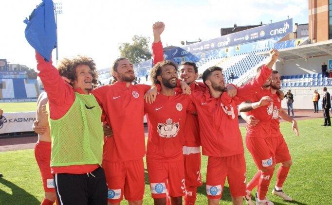 Antalyaspor, gözünü Avrupa'ya dikti