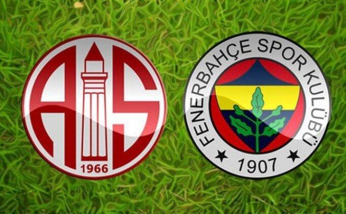 beIN Sports Antalyaspor Fenerbahçe maçı geniş özeti izle