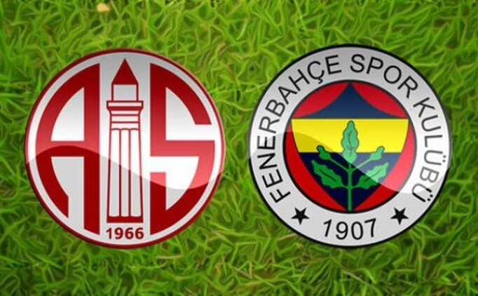 MAÇ ÖZETİ Antalyaspor Fenerbahçe maçı