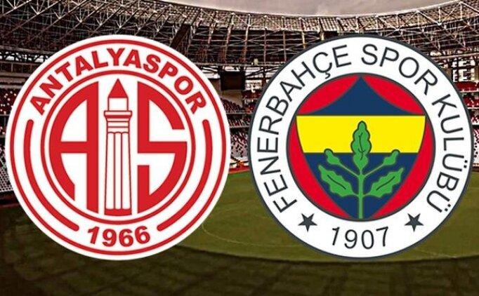 [SON DAKİKA] Antalyaspor Fenerbahçe maçı özet görüntüleri izle
