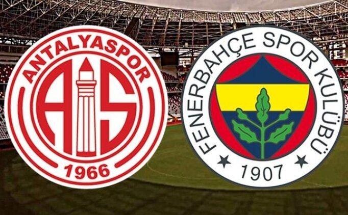 İZLE | Antalyaspor Fenerbahçe maçı özeti ve detayları