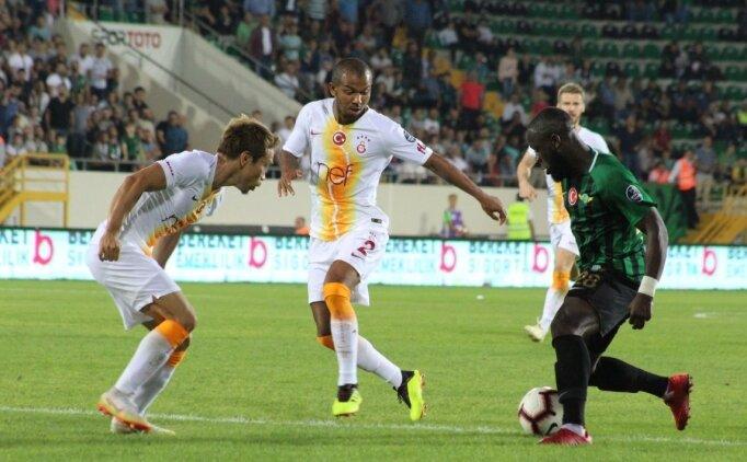 Akhisar'da tek amorti Galatasaray oldu