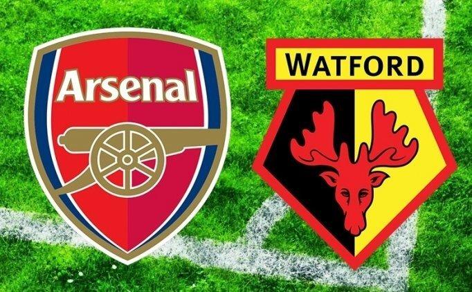 Arsenal Watford maçı canlı hangi kanalda saat kaçta?