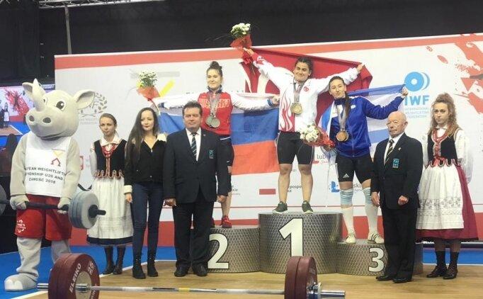 Dilara Narin Avrupa Şampiyonu!
