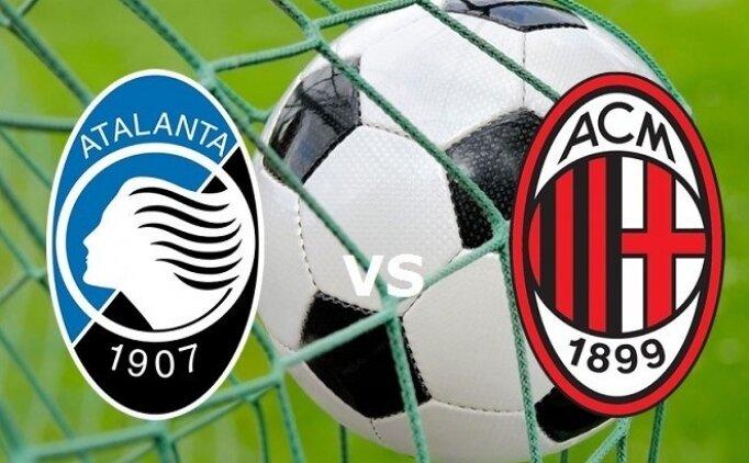 Atalanta Milan maçı canlı hangi kanalda saat kaçta?