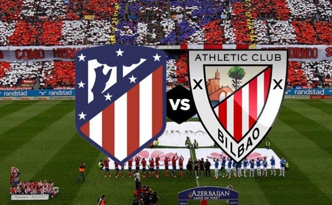 Atletico Madrid Athletic Bilbao maçı canlı hangi kanalda saat kaçta?