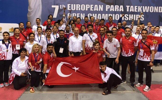 Para-Tekvando'da Avrupa şampiyonu olduk!