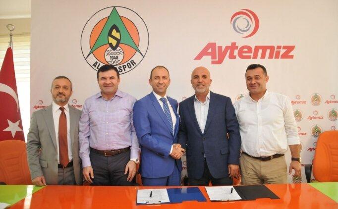 Aytemiz, Alanyaspor'un isim sponsoru oldu