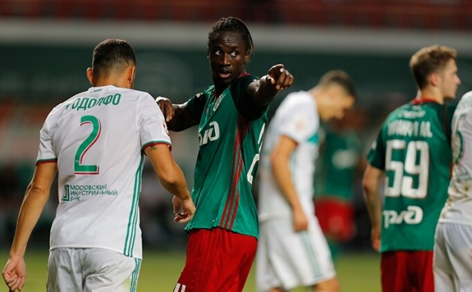 Lokomotiv Moskova'da Galatasaray'a karşı forvet Eder