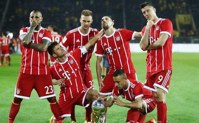 Bayern seriyi bozmadı