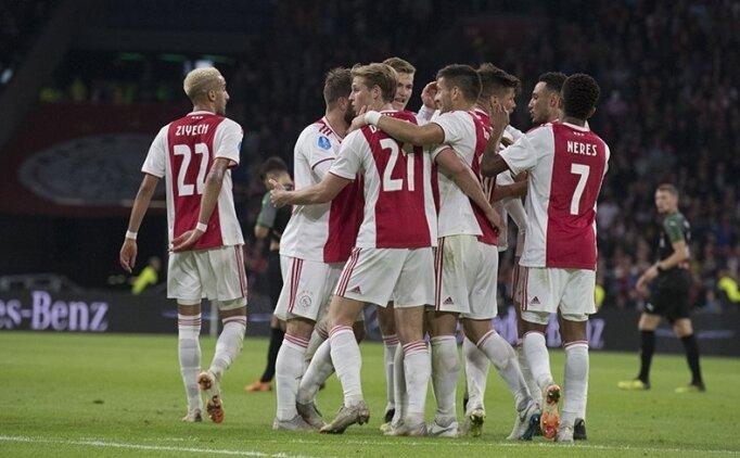 Huntelaar sahne aldı, Ajax 3 puanı kaptı!