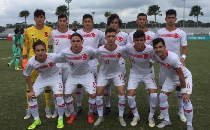 17 Yaş Altı Milli Futbol Takımı'nın rakipleri belli oldu