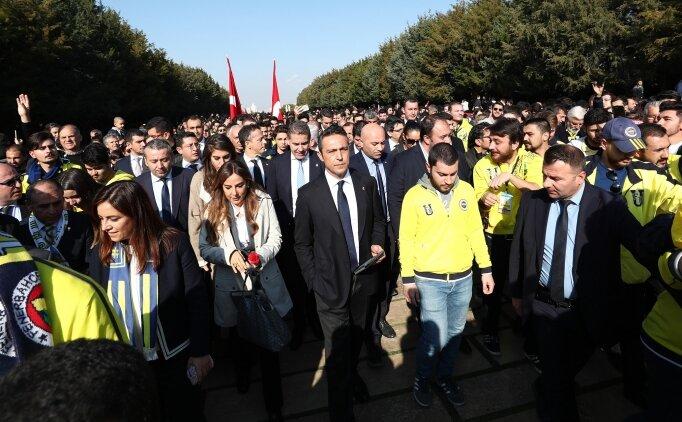 1907 Fenerbahçe Derneği ve 1907 Ünifeb Derneği Atatürk'ün huzurunda