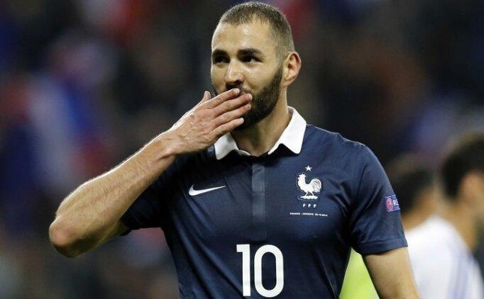 Karim Benzema'ya Fransa kapıları kapandı