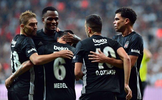 Beşiktaş'ın UEFA listesinde tek sürpriz!