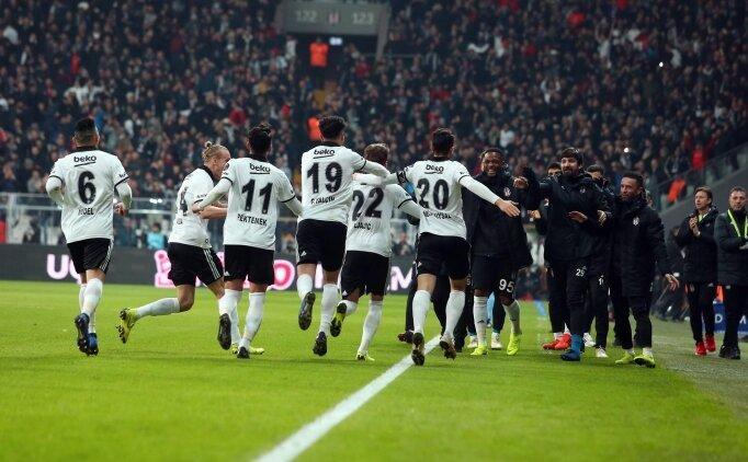 Beşiktaş'ta derbi sonrası prim sevinci