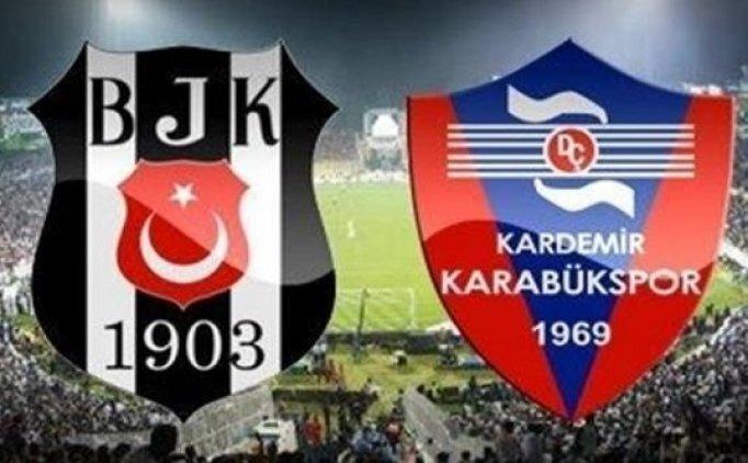 Beşiktaş muhtemel 11'i, Beşiktaş Karabükspor maçı saat kaçta, hangi kanalda?