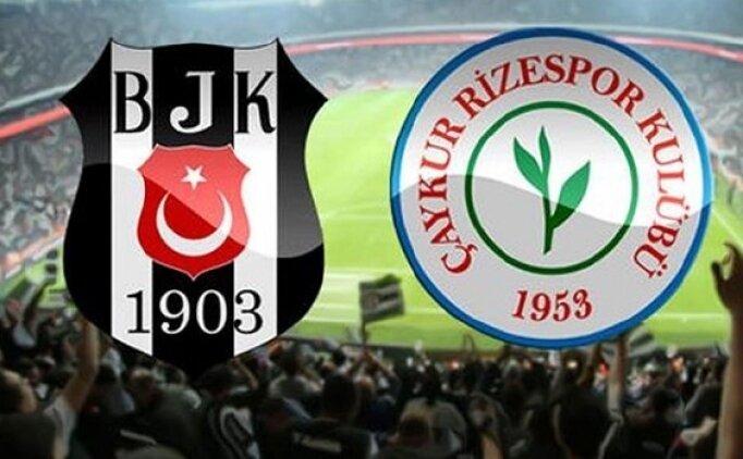 ÖZET Beşiktaş Rizespor maçı golleri İZLE