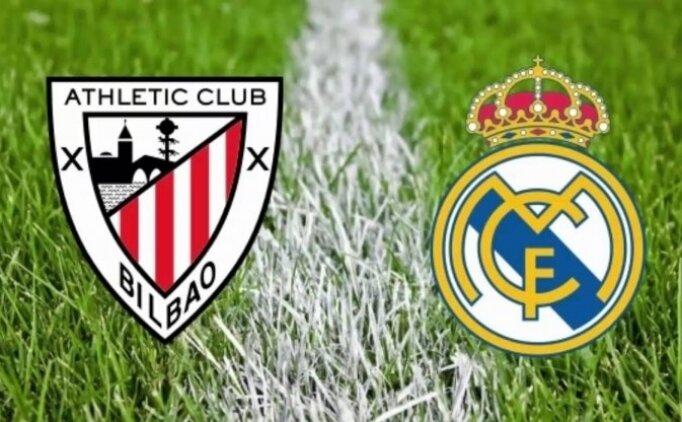Athletic Bilbao Real Madrid maçı canlı hangi kanalda saat kaçta?