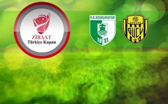 Bodrumspor Ankaragücü canlı izle hangi kanalda? Ankaragücü maçı saat kaçta?