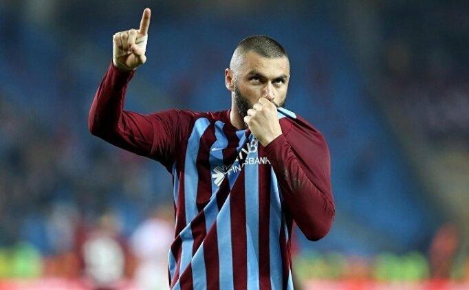 Burak Yılmaz, Bursa maçında sahada
