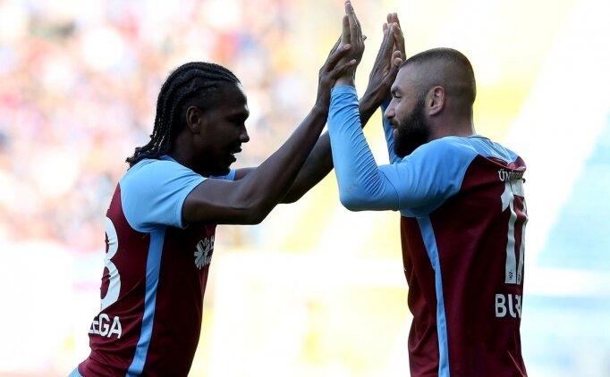 Trabzonspor'da golcüler sezona iyi başladı