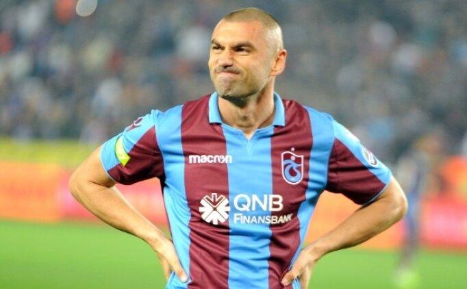 Trabzonspor'un 'özür dileyecek' dediği Burak Yılmaz'dan ses yok