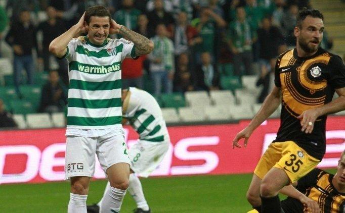 Bursaspor'da büyük çöküş!