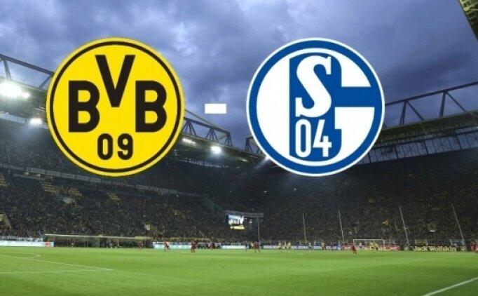 Schalke 04 Borussia Dortmund maçı canlı hangi kanalda saat kaçta?