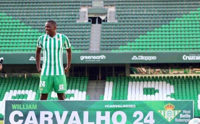 William Carvalho için taciz iddiası!