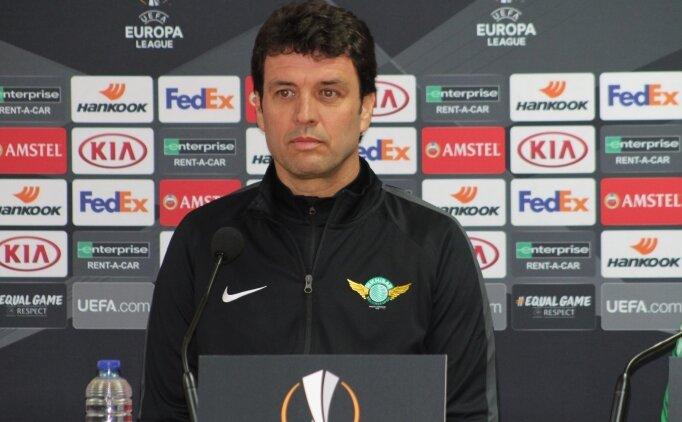 Cihat Arslan'dan Sevilla yorumu: 'Tarihi maç bizi bekliyor'