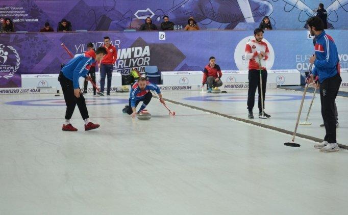 Curlingde 1. Lig'e çıkan takımlar belli oldu