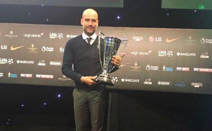 Rekorların adamı Guardiola, sezonun en iyisi oldu