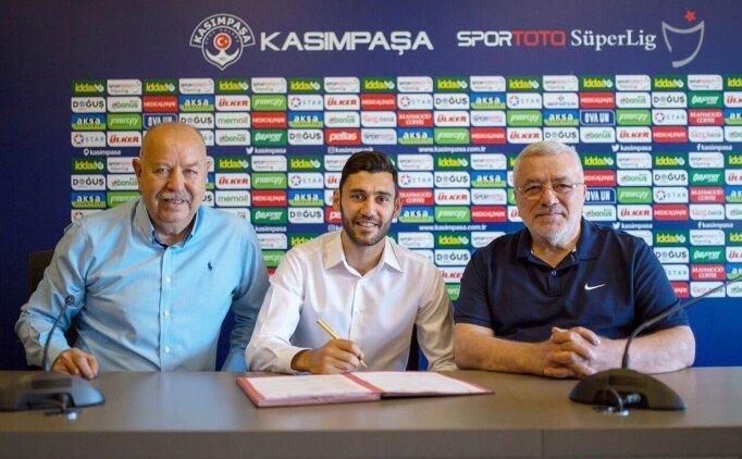 Kasımpaşa'da Veysel Sarı'ya 3 yıllık yeni sözleşme