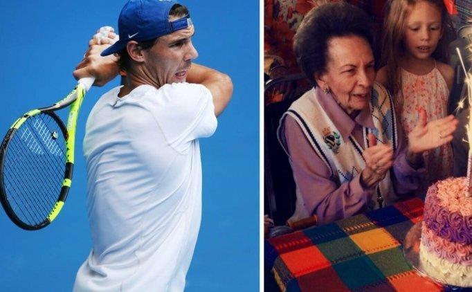 Rafael Nadal'ın 92 yaşındaki hayranından duygusal mektup