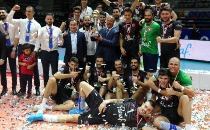 Halkbank, 2018 Spor Toto Şampiyonlar Kupası'nın sahibi oldu