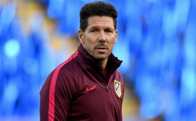 Diego Simeone: 'Asla transfer etmem'