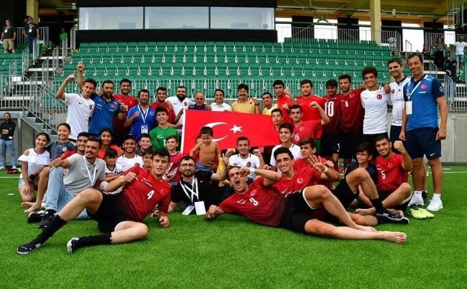 U21 İşitme Engelliler, Avrupa şampiyonu! Gurur duyuyoruz...