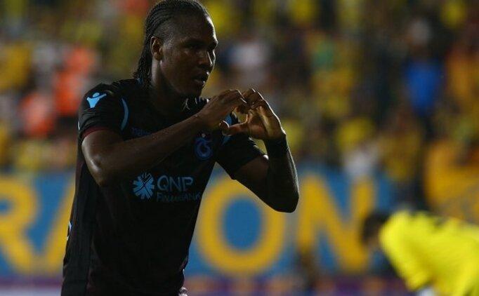 Trabzonspor'da Hugo Rodallega'nın gol hedefi