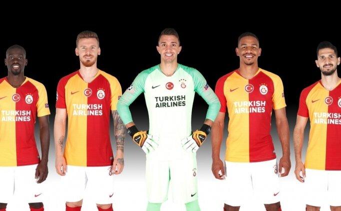 Galatasaray'ın Avrupa'daki forma sponsoru THY oldu!