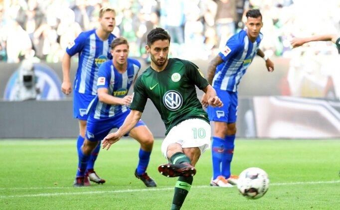 Yunus Mallı attı, Wolfsburg namağlup ilerledi!