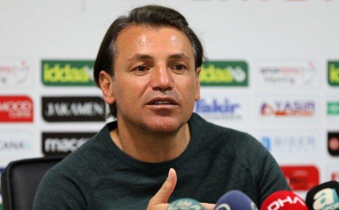 Tamer Tuna: ''Fenerbahçe'yi yenmek istiyoruz''