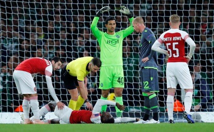 Arsenal'de sakatlık depremi! Welbeck'in bileğinde kırık