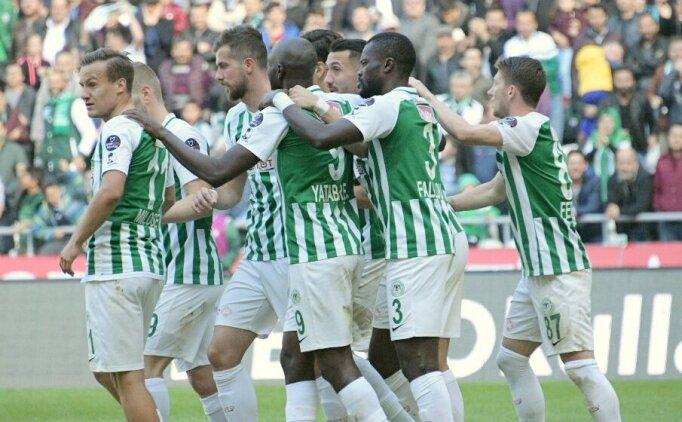 Konyaspor 5 hafta sonra 3 puana uzandı