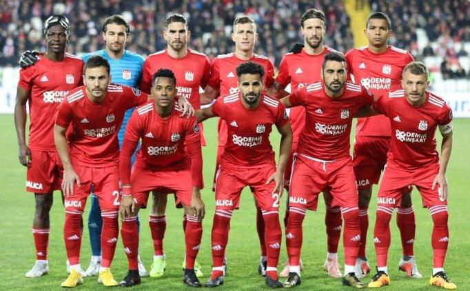 Sivasspor'da kötü gidiş devam ediyor