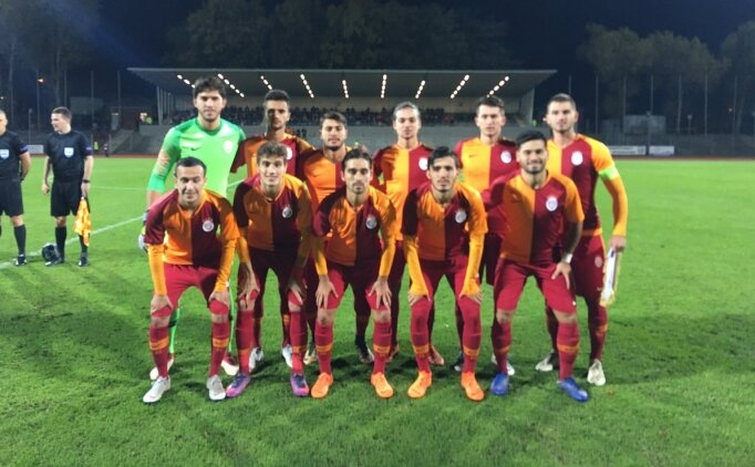 Galatasaray'ın gençlerinden Almanya'da kritik galibiyet!