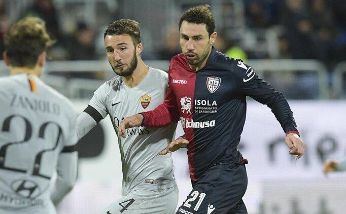 Roma, 9 kişi Cagliari karşısında şoku yaşadı!
